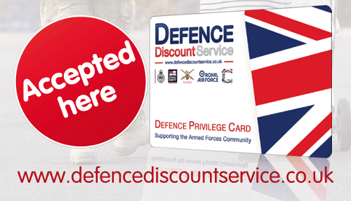 Defence Discounts Offered at Websorceress Web Design